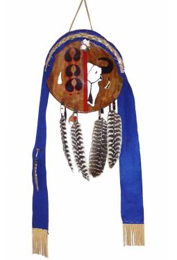 Lakota Buffalo Shield - Büffel Schild